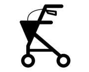 Køreredskaber | Rollator | Hjælpemidler | Personlige Hjælpemidler |
