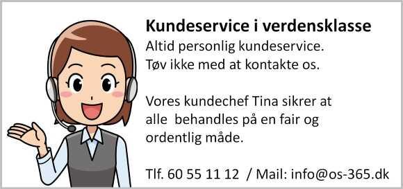 Kunderservice | Kundefokus | os-365.dk |