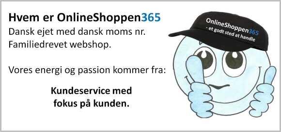 Dansk webshop | Dansk kundeservice | os-365.dk |