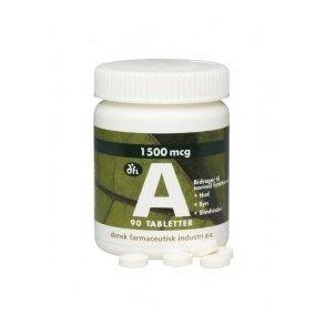 A-vitaminer og Betacaroten