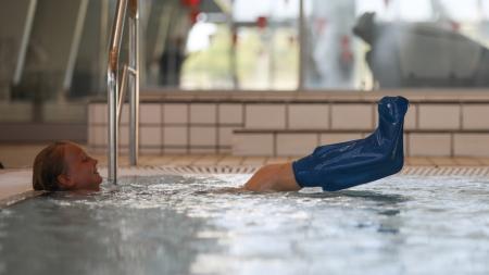 Vendex badebeskytter til ben. Fås i fleres størrelser.